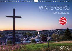 Winterberg Impressionen (Wandkalender 2019 DIN A4 quer) von Bücker,  Heidi