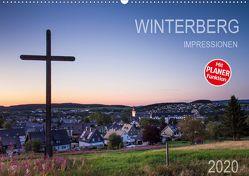 Winterberg Impressionen (Wandkalender 2020 DIN A2 quer) von Bücker,  Heidi