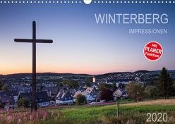 Winterberg Impressionen (Wandkalender 2020 DIN A3 quer) von Bücker,  Heidi