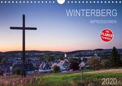 Winterberg Impressionen (Wandkalender 2020 DIN A4 quer) von Bücker,  Heidi