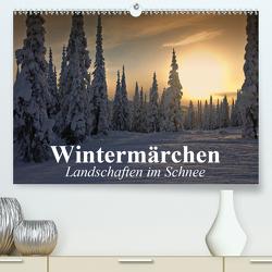 Wintermärchen Landschaften im Schnee (Premium, hochwertiger DIN A2 Wandkalender 2021, Kunstdruck in Hochglanz) von Stanzer,  Elisabeth