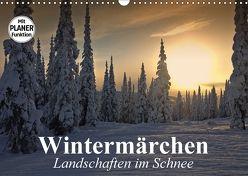 Wintermärchen. Landschaften im Schnee (Wandkalender 2018 DIN A3 quer) von Stanzer,  Elisabeth