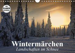 Wintermärchen. Landschaften im Schnee (Wandkalender 2019 DIN A4 quer) von Stanzer,  Elisabeth