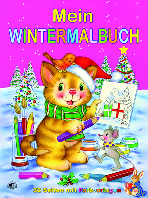 Wintermalbuch pink