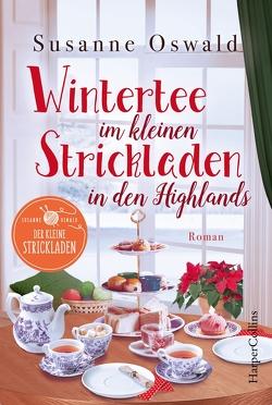 Wintertee im kleinen Strickladen in den Highlands von Oswald,  Susanne
