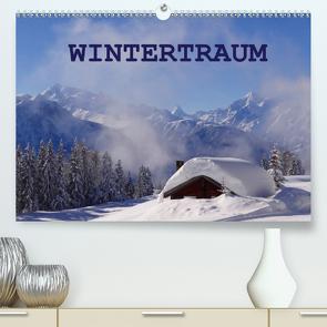 WinterTraum (Premium, hochwertiger DIN A2 Wandkalender 2021, Kunstdruck in Hochglanz) von Michel,  Susan