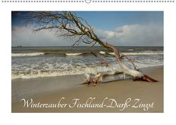 Winterzauber Fischland-Darß-Zingst (Wandkalender 2019 DIN A2 quer) von Grobelnx,  Renate