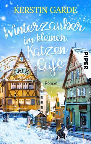 Winterzauber im kleinen Katzen-Café von Garde,  Kerstin
