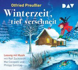 Winterzeit, tief verschneit von Chudzinski,  Daniela, Cocopelli,  Mai, Preussler,  Otfried, Sonntag,  Philipp, Zuckowski,  Rolf