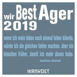 Wir Best Ager 2019 von Farin,  Klaus