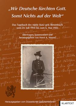 """""""Wir Deutsche fürchten Gott. Sonst Nichts auf der Welt"""" von Wessel,  Horst A."""