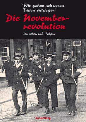 """""""Wir gehen schweren Zeiten entgegen"""" – Die Novemberrevolution von Brieden,  Hubert"""