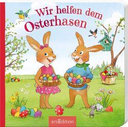 Wir helfen dem Osterhasen von Hauenschild,  Lydia, Straub,  Sabine