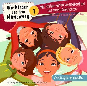 Wir Kinder aus dem Möwenweg – Wir stellen einen Weltrekord auf und andere Geschichten (CD) von Boie,  Kirsten