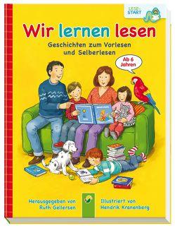 Wir lernen lesen von Gellersen,  Ruth, Kranenberg,  Hendrik, Velte,  Ulrich