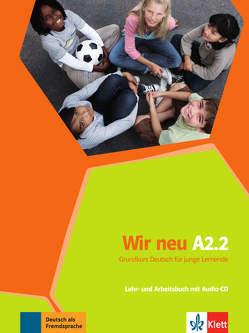 Wir neu A2.2 von Jenkins-Krumm,  Eva-Maria, Motta,  Giorgio