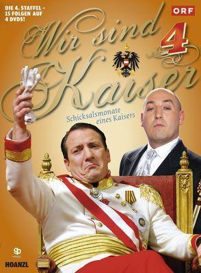Wir sind Kaiser 4. Staffel von Palfrader,  Robert, Roubinek,  Rudi