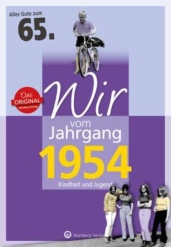 Wir vom Jahrgang 1954 – Kindheit und Jugend von Lange-Michael,  Ulrike