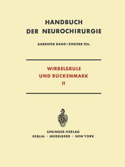 Wirbelsäule und Rückenmark von Bartsch,  W, Nittner,  K.