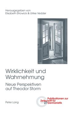 Wirklichkeit und Wahrnehmung von Strowick,  Elisabeth, Vedder,  Ulrike