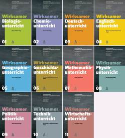 Wirksamer Fachunterricht Band 1-11 von Rehm,  Markus, Reinhardt,  Volker, Wilhelm,  Markus