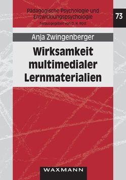 Wirksamkeit multimedialer Lernmaterialien von Zwingenberger,  Anja