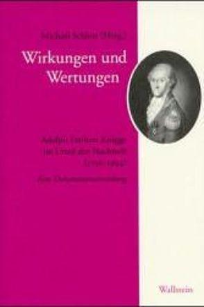 Wirkungen und Wertungen von Behle,  Carsten, Schlott,  Michael