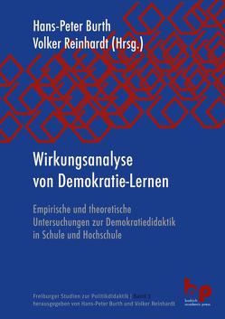 Wirkungsanalyse von Demokratie-Lernen von Burth,  Hans-Peter, Reinhardt,  Volker