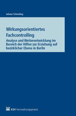 Wirkungsorientiertes Fachcontrolling von Schmeling,  Juliane