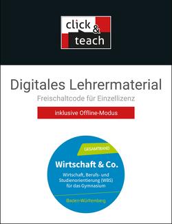 Wirtschaft & Co. – Baden-Württemberg / Wirtschaft & Co. Baden-Württemb. click & teach Box von Burghardt,  Yvonne, Hamm-Reinöhl,  Andreas, Heuser,  Johannes, Podes,  Stephan, Riedel,  Hartwig, Straub,  Jürgen