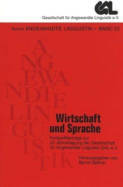 Wirtschaft und Sprache von Wolff,  Dieter
