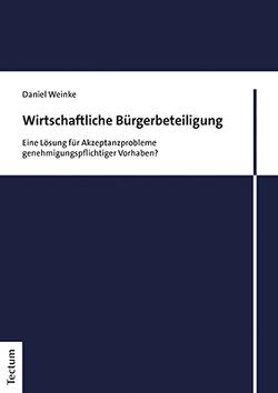 Wirtschaftliche Bürgerbeteiligung von Weinke,  Daniel