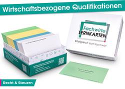 Wirtschaftsbezogene Qualifikationen – Lernkarten Recht & Steuern von Guttmann,  David
