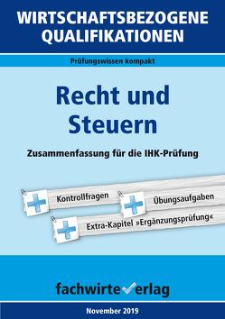 Wirtschaftsbezogene Qualifikationen: Recht und Steuern von Fresow,  Reinhard, Michel,  Jana