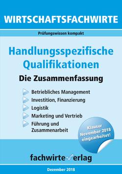 Wirtschaftsfachwirte: Handlungsspezifische Qualifikationen von Fresow,  Reinhard