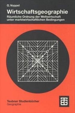 Wirtschaftsgeographie von Voppel,  Götz