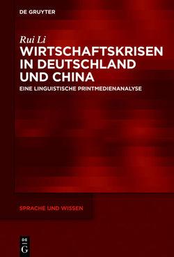 Wirtschaftskrisen in Deutschland und China von Li,  Rui