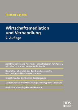 Wirtschaftsmediation und Verhandlung von Schinkel,  Reinhard