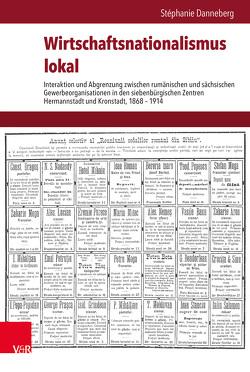 Wirtschaftsnationalismus lokal von Brunnbauer,  Ulf, Danneberg,  Stéphanie, Schulze Wessel,  Martin