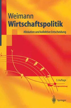 Wirtschaftspolitik von Weimann,  Joachim
