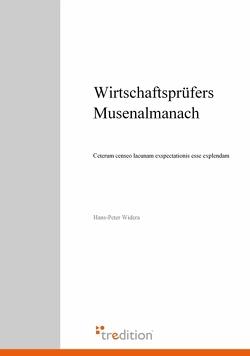 Wirtschaftsprüfers Musenalmanach von Widera,  Hans-Peter