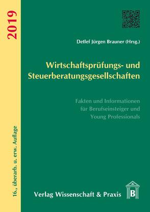 Wirtschaftsprüfungs- und Steuerberatungsgesellschaften 2019 von Brauner,  Detlef Jürgen