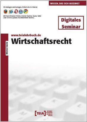 Wirtschaftsrecht von Sauter,  Werner