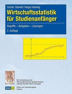 Wirtschaftsstatistik für Studienanfänger von Deweß,  Günter, Hartwig,  Helga