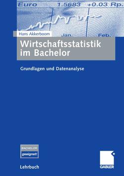 Wirtschaftsstatistik im Bachelor von Akkerboom,  Hans
