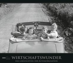 Wirtschaftswunder 2020 – Bildkalender (33,5 x 29) – Autokalender – Technikkalender – Nostalgie – Retro – Wandkalender von ALPHA EDITION