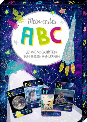 Wisch-und-weg-Wendekarten – Cosmic School – Mein erstes ABC