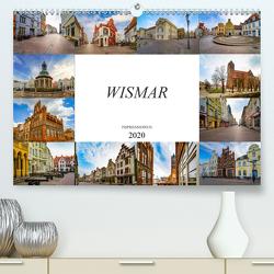 Wismar Impressionen (Premium, hochwertiger DIN A2 Wandkalender 2020, Kunstdruck in Hochglanz) von Meutzner,  Dirk