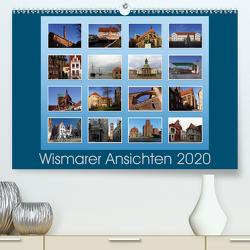 Wismarer Ansichten 2020 (Premium, hochwertiger DIN A2 Wandkalender 2020, Kunstdruck in Hochglanz) von Felix,  Holger