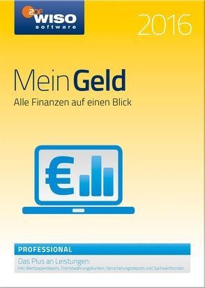 WISO Mein Geld Professional 2016 von Buhl Data Service GmbH